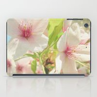 cherry blossom iPad Cases featuring Cherry Blossom by Cassia Beck