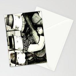 Three Musicians Stationery Cards