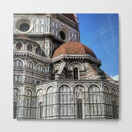 Tuscan Cathedral Metal Print