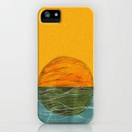 Swimming Sun iPhone Case
