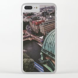 Berlin High View Clear iPhone Case