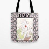 haim Tote Bags featuring Este Haim by chazstity
