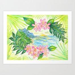Mount Kilhuea Art Print