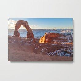 Delicate Sunrise Metal Print