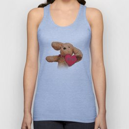 Puppup Celebrating Mother's Day Close-Up Unisex Tank Top