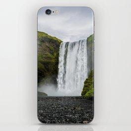 Skogafoss Waterfall Iceland iPhone Skin