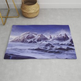 A Winter Chill Rug