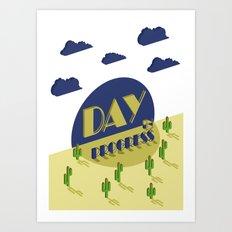 Day in Progress Art Print