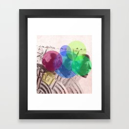 Threefold Framed Art Print