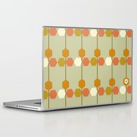 hexagon Laptop & iPad Skins featuring Hexagon by clare nicolson
