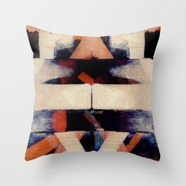 disquiet two Throw Pillow