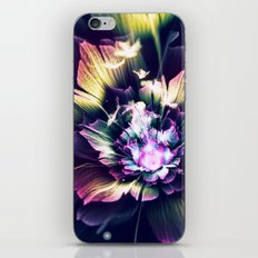 Flower digital Art 2 iPhone & iPod Skin