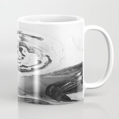 Mother's Day Roses Silver Year Black and White Mug