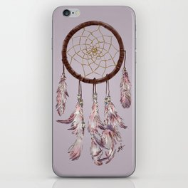 dreamcatcher purple iPhone Skin