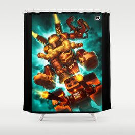 torbjorn over Shower Curtain