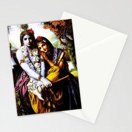 Hindu Krishna 3 Stationery Cards