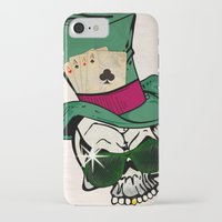 poker iPhone & iPod Cases featuring Poker Face by Ewan Arnolda