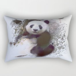 Animals and Art - Panda Rectangular Pillow