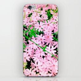 Pink Snow iPhone Skin