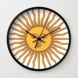 Sun Beam Face Wall Clock