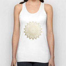 BOHO NIGHTS MANDALA Unisex Tank Top