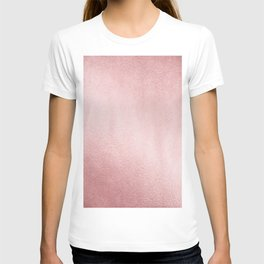Simply Rose Gold Sunset T-shirt