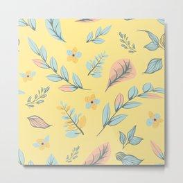 Flower Design Series 12 Metal Print