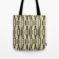 kilim Tote Bags featuring kilim 01 by Ioana Luscov