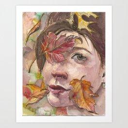 Autumn Sprite Art Print