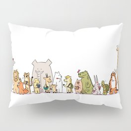 At The Bus Stop Pillow Sham