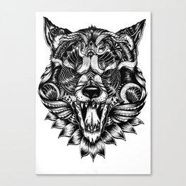 Feral Wolf Canvas Print
