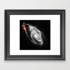 Space Art Framed Art Print