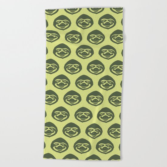THE SLOW LIFE Beach Towel