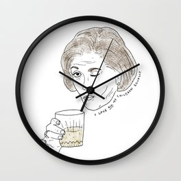 I love all my children equally. Wall Clock