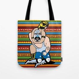 Lucha México Tote Bag