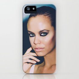Watching You! Watching Me! Love! iPhone Case