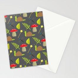 Fairy Garden Pattern 2 Stationery Cards