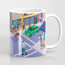 Town of Los Gatos (A Day in the Life) Coffee Mug