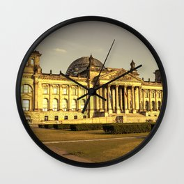 Reichstag Wall Clock