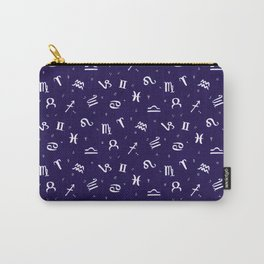 Symbols of Astrology Carry-All Pouch
