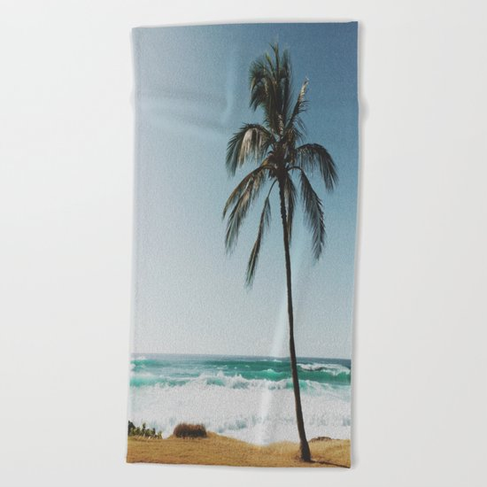 By the Beach  Beach Towel