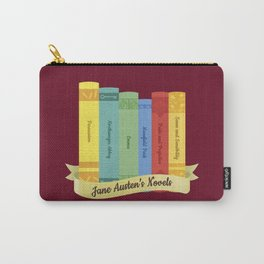 Jane Austen's Novels IV Carry-All Pouch
