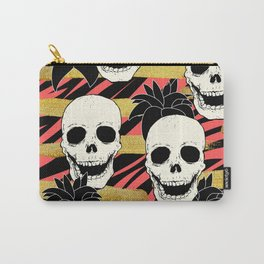 Skulls & Flowers  Carry-All Pouch