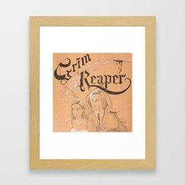 Love of The Reaper Framed Art Print