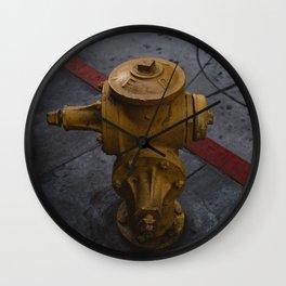 LA Streets Wall Clock