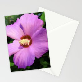 Rose OF Sharon In Mid Summer Stationery Cards