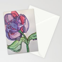 Purple and Pink Stationery Cards