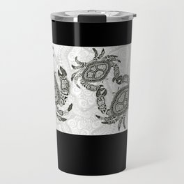 Dancing Crabs Travel Mug