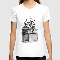house T-shirts featuring house by Pal Varsanyi