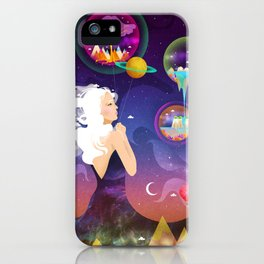 Wonderworlds iPhone Case
